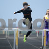 Monica Maschak - mmaschak@shawmedia.com<br /> Savannah Long leaps over a hurdle in the 300-meter hurldes at a Class 3A Belvidere North Sectional on Thursday, May 9, 2013. Long finished eighth with a time of 50.00 seconds.