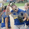 Monica Maschak - mmaschak@shawmedia.com<br /> The Blue Devils celebrate their 6-1 win against DeKalb in Class 4A Prairie Ridge Sectional final on Saturday, June 1, 2013.