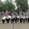 Rob Winner – rwinner@shawmedia.com<br /> <br /> Sycamore's Memorial Day parade travels west on Charles Street while traveling to Elmwood Cemetery in Sycamore, Ill.