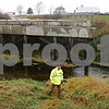 Rob Winner – rwinner@shawmedia.com<br /> <br /> Dan McNichol is seen near the Kishwaukee River at the site of the August 2008 bridge collapse on Keslinger Road in Afton Township on Wednesday, Nov. 6, 2013.