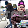 Monica Maschak - mmaschak@shawmedia.com<br /> Volunteer Eileen Eckhardt, 9, with Girl Scout Troop 544, sorts donated toys by age and gender during the Toys For Tots drive at the DeKalb Walmart on Saturday, November 2, 2013.