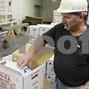 Rob Winner – rwinner@shawmedia.com<br /> <br /> Robert Kaufmann of Ho-Ka Turkey Farm in Waterman shows a packaged turkey on Tuesday, Nov. 5, 2013.