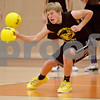Monica Maschak - mmaschak@shawmedia.com<br /> Chris Pawola, with the Kish Health Spartans, dodges a ball as the last man standing during a dodgeball tournament at DeKalb High School on Saturday, November 9, 2013. The Ben Gordon Center held the 8th annual tournament to raise money for veterans services.