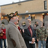 Rob Winner – rwinner@shawmedia.com<br /> <br /> Tim Timmer of VFW Post 5768 and veteran of Desert Storm speaks during an observance of Veterans Day at Sycamore High School on Monday, Nov. 11, 2013.