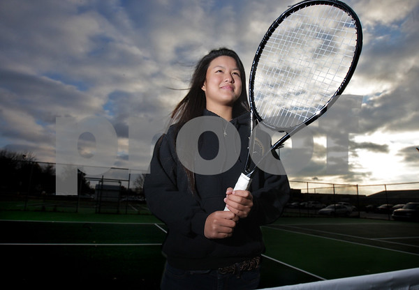 Monica Maschak - mmaschak@shawmedia.com<br /> Sycamore sophomore Angelina Ye is the Daily Chronicle 2013 Girls Tennis Player of the Year.