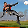 Monica Maschak - mmaschak@shawmedia.com<br /> DeKalb senior Akim Suraji is the 2013 Daily Chronicle Boys Soccer Player of the Year.
