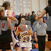 Rob Winner – rwinner@shawmedia.com<br /> <br /> Genoa-Kingston's Katie Thurlby looks to the basket before taking a shot in the first quarter during a game against Indian Creek in Genoa, Ill., Monday, Nov. 18, 2013.