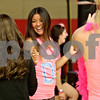 Monica Maschak - mmaschak@shawmedia.com<br /> Emily Kightly, 21, with sorority Delta Gamma, dances with her friends during a dance marathon to raise money for Children's Miracle Network at the Northern Illinois University Recreation Center on Saturday, November 23, 2013. All money raised will help the Ann and Robert H. Lurie Children's Hospital of Chicago.