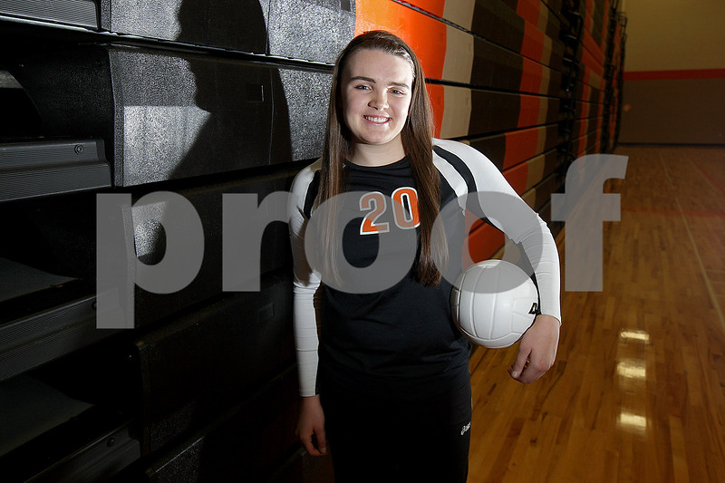 Monica Maschak - mmaschak@shawmedia.com<br /> DeKalb's Madison Lord is the 2013 Daily Chronicle Volleyball Player of the Year.