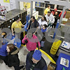 Rob Winner – rwinner@shawmedia.com<br /> <br /> Customers make their way inside Best Buy in DeKalb at 6 p.m. on Thanksgiving night looking for holiday deals.