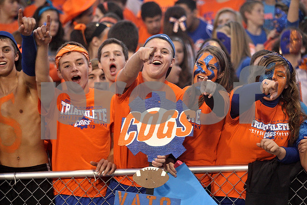 Monica Maschak - mmaschak@shawmedia.com<br /> Genoa-Kingston student section.