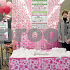 Monica Maschak - mmaschak@shawmedia.com<br /> Co-coordinator for Barb City Food Mart Sheryl Nakonechny (left) and Lehan Drugs Store Manager Terri Lehan Hettel stand by the pink bathtub in the entrance of the family drug store.  Community members can bring non-perishable food items and hygiene products to Lehan Drugs to fill the tub. Contributed items will be donated to the Barb Food Mart - open every Thursday at Huntley Middle School.