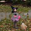 Rob Winner – rwinner@shawmedia.com<br /> <br /> Savanna Wood, 2, of Sycamore is seen near her Mrs. Potato Head pumpkin entry on the lawn of the DeKalb County Courthouse in Sycamore, Ill., on Wednesday, Oct. 23, 2013.