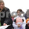 Rob Winner – rwinner@shawmedia.com<br /> <br /> Kari Polz of Sycamore and her daughter Ava Polz, 9, check in Ava's Princess Leia decorated pumpkin entry at the Sycamore Pumpkin Festival on the lawn of the DeKalb County Courthouse in Sycamore, Ill., Wednesday, Oct. 23, 2013.