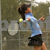 Rob Winner – rwinner@shawmedia.com<br /> <br /> Sophomore Angelina Ye practices at Sycamore High School on Wednesday, Oct. 23, 2013.