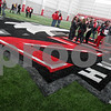 Monica Maschak - mmaschak@shawmedia.com<br /> A crowd admires the turf at the grand opening of the Kenneth and Ellen Chessick Practice Center on Northern Illinois University's campus on Saturday, October 26, 2013.