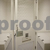 Rob Winner – rwinner@shawmedia.com<br /> <br /> A view of a holding cell at the new DeKalb Police Station as seen on Wednesday, Oct. 30, 2013.