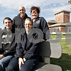 Monica Maschak - mmaschak@shawmedia.com<br /> From top left: Todd Turner, Melissa Turner, Jake Turner and Sarie Turner in front of Sycamore Fire Station 2.