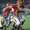 Monica Maschak - mmaschak@shawmedia.com<br /> Running back Kevin Green carries the ball in the first quarter against DeKalb in the first round of the IHSA class 6A playoffs at Batavia High School on Friday, November 1, 2013.