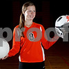 Monica Maschak - mmaschak@shawmedia.com<br /> Sophomore Morgan Newport sets for the DeKalb varsity volleyball team and pitches for the varsity softball team.