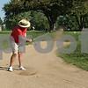 Rob Winner – rwinner@shawmedia.com<br /> <br /> Golfer John Jacobson of DeKalb hits out of a sand trap on the 10th hole at the Kishwaukee Country Club in DeKalb on Tuesday, Sept. 10, 2013.