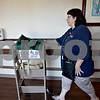 Monica Maschak - mmaschak@shawmedia.com<br /> DeKalb Public Library Outreach Coordinator Beatrice O'Connell leaves Bethany Health Care and Rehabilitation Center after exchanging old books for new books with the residents. Public libraries in the county such as DeKalb offer a home delivery service for people who are homebound, whether they are ill or disabled. DeKalb's program is offered for free and for all residents, no matter the age.