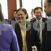 Rob Winner – rwinner@shawmedia.com<br /> <br /> Princess Maha Chakri Sirindhorn of Thailand is greeted by Northern Illinois University administrators at Altgeld Hall upon her arrival on Wednesday, Sept. 18, 2013. Princess Maha Chakri Sirindhorn was granted the Honorary Degree of Doctor of Humane Letters.