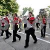 Monica Maschak - mmaschak@shawmedia.com<br /> The Indian Creek High School Marching Band plays a tune during the Indian Creek Homecoming Parade in Waterman on Saturday, September 28, 2013.