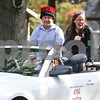 Monica Maschak - mmaschak@shawmedia.com<br /> Homecoming King Logan Kerner and Queen Kirsten Herrmann wave to parade-goers during the Indian Creek Homecoming Parade in Waterman on Saturday, September 28, 2013.