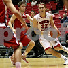 Monica Maschak - mmaschak@shawmedia.com<br /> Northern Illinois' Aksel Bolin looks to make a play in the first half against Miami on Tuesday, February 4, 2014. The Huskies won, 53-41.