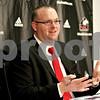 Monica Maschak - mmaschak@shawmedia.com<br /> Northern Illinois head coach Rod Carey talks to the media about the 2014 recruiting class in the Yordon Center on Wednesday, February 5, 2014.