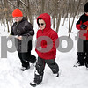Monica Maschak - mmaschak@shawmedia.com<br /> Benjamin Dries, 9, Alex Andrews, 10, and Alejo Pacheco, 10, all with Cub Scout Pack 117 of Genoa, learn orienteering skills at the annual Klondike Derby at the Sycamore Sportsman's Club on Saturday, February 1, 2014.