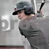 Monica Maschak - mmaschak@shawmedia.com<br /> Alex Klonowski bats during baseball practice at the Chessick Center on Wednesday, February 12, 2014.