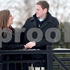 Monica Maschak - mmaschak@shawmedia.com<br /> Northern Illinois seniors Susie Richard and boyfriend of one year Jack Barry stop to talk on a walk by the lagoon on Thursday, February 13, 2014.