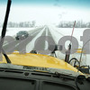 Monica Maschak - mmaschak@shawmedia.com<br /> Plank Road and Peace Road are maintained by DeKalb County's plow trucks. The county is expected to receive 4 to 8 inches of snow by 6 p.m. Monday, February 17, 2014.