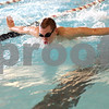 Monica Maschak - mmaschak@shawmedia.com<br /> Daniel Hein swims the butterfly stroke during practice at Huntley Middle School on Tuesday, February 25, 2014.