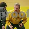Rob Winner – rwinner@shawmedia.com<br /> <br /> Seniors Tyler Barton (right) and Austin Armstrong wrestle during practice at Sycamore High School on Thursday, Jan. 2, 2014.
