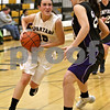 Monica Maschak - mmaschak@shawmedia.com<br /> Sycamore's Lauren Goff rushes to the hoop in the second quarter against Hampshire at Sycamore High School on Tuesday, January 14, 2014. Sycamore won, 47-29.