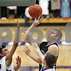 Rob Winner – rwinner@shawmedia.com<br /> <br /> Sycamore's Ben Niemann puts up a shot during the first quarter in Rochelle, Ill., Friday, Jan. 17, 2014. Sycamore defeated Rochelle, 76-49.
