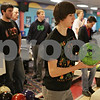 Rob Winner – rwinner@shawmedia.com<br /> <br /> Will Todtz (front) is seen during DeKalb bowling practice at Mardi Gras Lanes in DeKalb, Ill., Monday, Jan. 20, 2014.