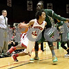 Monica Maschak - mmaschak@shawmedia.com<br /> Northern Illinois' Daveon Balls speeds past a defender in the first half against Ohio University on Saturday, January 18, 2014. The Huskies lost, 65-46.