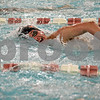 Monica Maschak - mmaschak@shawmedia.com<br /> Holden Mackey laps his competitors in the 500 yard freestyle event against Elgin on Thursday, January 30, 2014. DeKalb won the meet, 136-31.