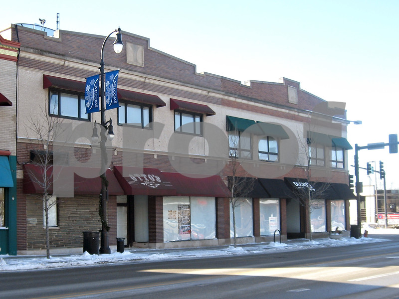 Katie Dahlstrom – kdahlstrom@shawmedia.com<br /> <br /> The building at the corner of First Street and Lincoln Highway has been closed since Saturday after a burst pipe flooded the building.