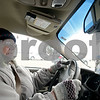 Rob Winner – rwinner@shawmedia.com<br /> <br /> Dorothy Bierman, 86, makes a right turn from South Fourth Street onto Fairview Drive in DeKalb, Ill., Friday, Jan. 24, 2014. Bierman has been driving for about 70 years.