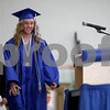 Monica Maschak - mmaschak@shawmedia.com<br /> Salutatorian Kimberly Weissinger addresses her class during the Hinckley-Big Rock graduation ceremony on Sunday, June 1, 2014.