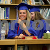 Monica Maschak - mmaschak@shawmedia.com<br /> Amanda Harrison lines up with her class before the Hinckley-Big Rock graduation ceremony on Sunday, June 1, 2014.