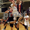 Monica Maschak - mmaschak@shawmedia.com<br /> DeKalb's Jace Kitchen shoots the ball in the first quarter of the Class 4A Regional quarterfinal game against Belvidere North on Monday, March 3, 2014. DeKalb won, 82-71.