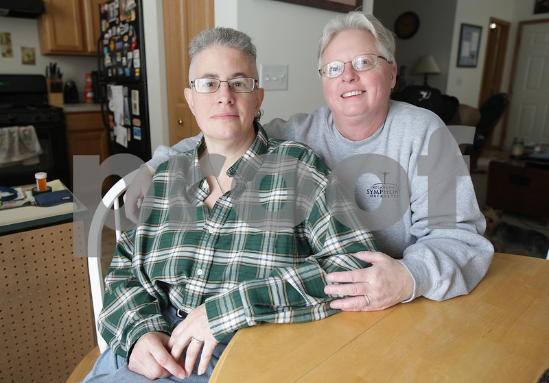Monica Maschak - mmaschak@shawmedia.com<br /> Jaelyn Paulsen and partner Darla Cook, of DeKalb, are hoping to get legally married by their civil union anniversary date of March 17.