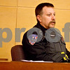 Monica Maschak - mmaschak@shawmedia.com<br /> Officer David Subject, with the Villa Park Police, testifies on his encounter with Benjamin Black during a sentencing hearing for Black at the Kane County Courthouse on Thursday, March 20, 2014. Black is convicted of aggravated driving under the influence in a 2013 crash that killed a Sycamore boy. The judge delayed the sentencing to March 26.