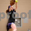 Monica Maschak - mmaschak@shawmedia.com<br /> DeKalb sophomore Morgan Newport winds up on a pitch during softball practice on Wednesday, March 19, 2014.